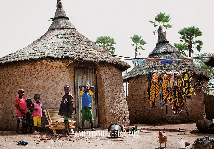 burkina faso african in a village people 23