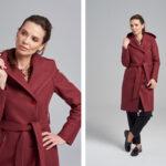 Fotografia produktowa kolekcji płaszczy damskich premium. Sesja w studio w Warszawie.